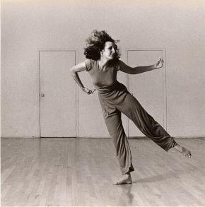 Trisha Brown in Watermotor (1978) Photo © Julieta Cervantes 2011